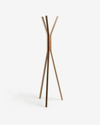 Perchero Chelsey madera maciza de caucho 170 cm