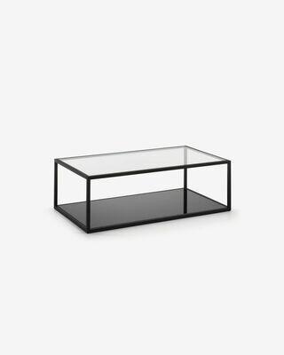 Mesa de centro rectangular Blackhill 110 x 60 cm negro