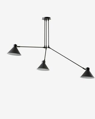 Lámpara de techo Dione de acero