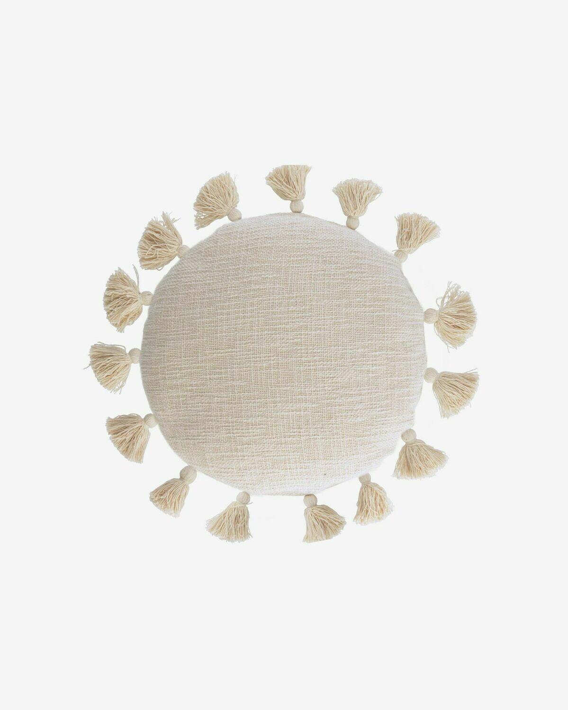Funda cojín Chiarina Ø 45 cm beige