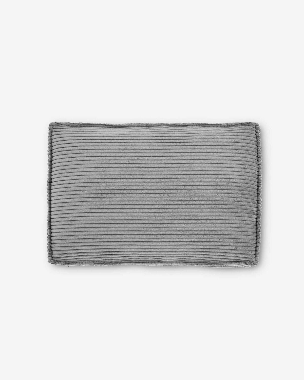 Cojín Blok 50 x 70 cm pana gris