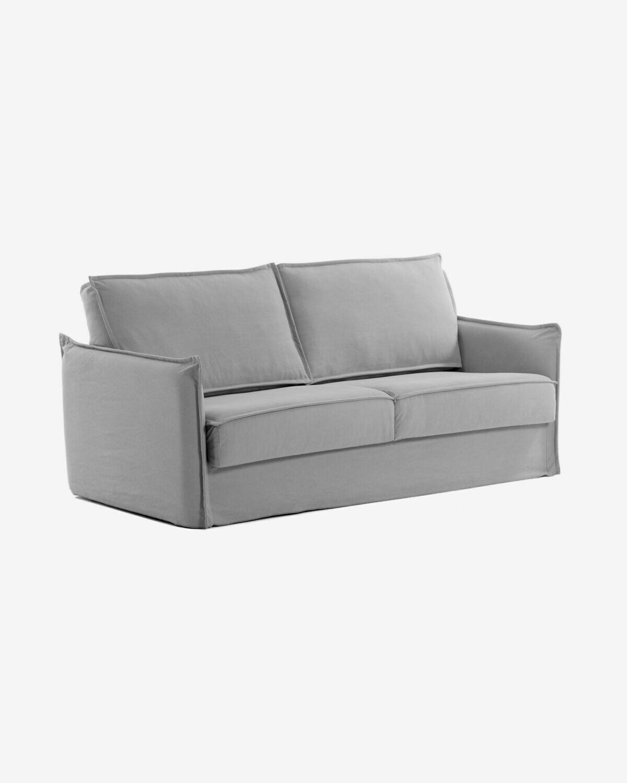Sofá cama Samsa 140 cm visco gris