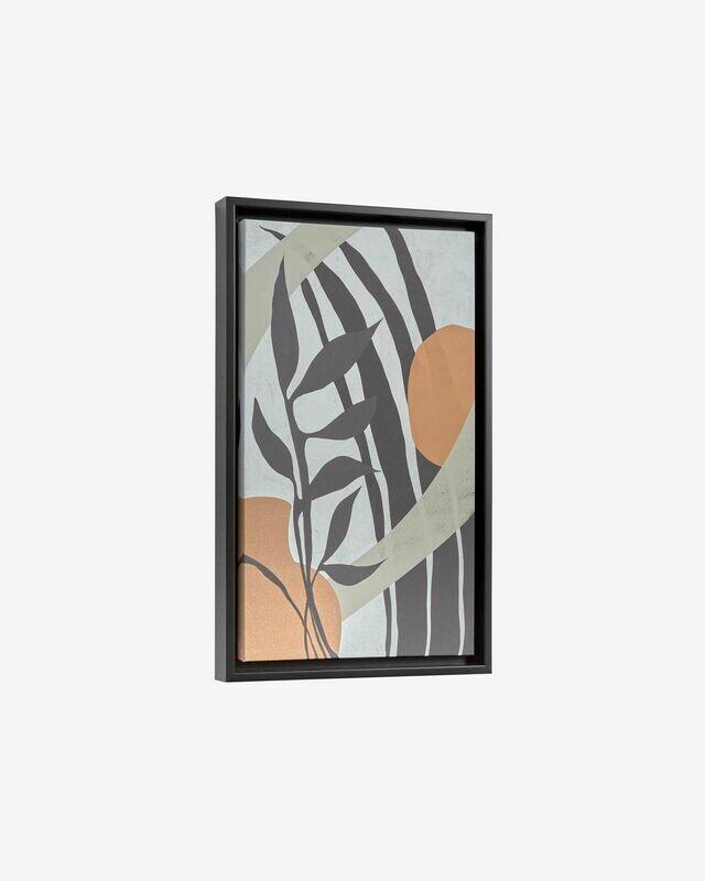 Cuadro Bianey 50 x 30 cm blanco