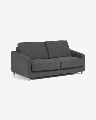 Sofá cama Celene gris oscuro 168 cm