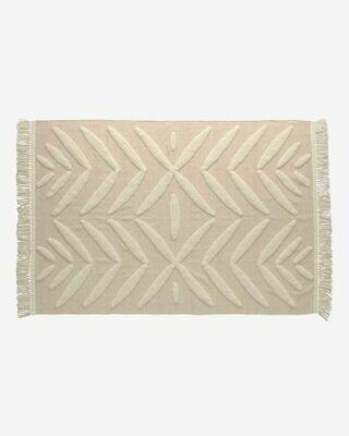 Alfombra Dethra 100% algodón 140 x 200 cm
