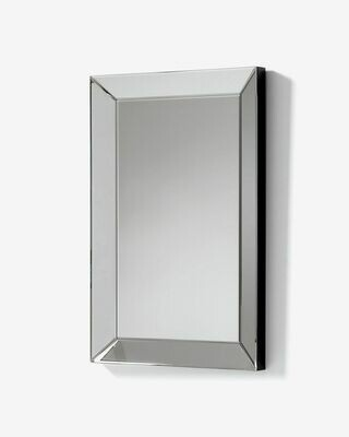 Espejo Lena de cristal biselado 90 x 60 cm