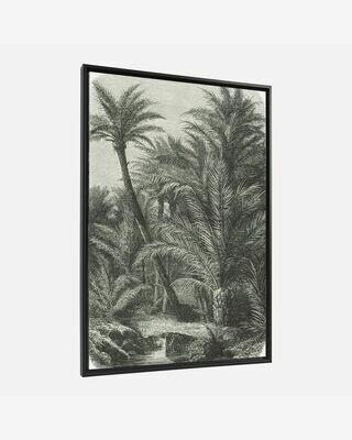 Cuadro Bamidele 60 x 90 cm palmeras