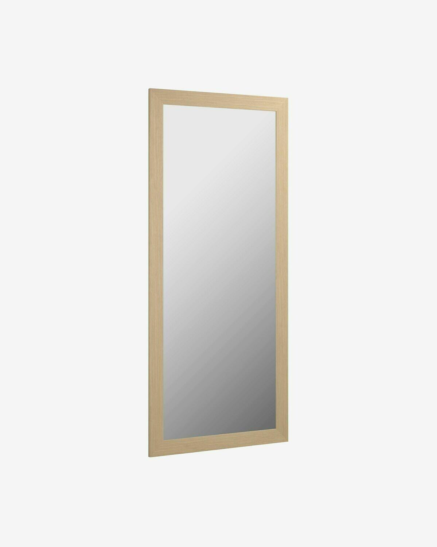 Espejo Yvaine 52,5 x 152 cm con acabado natural