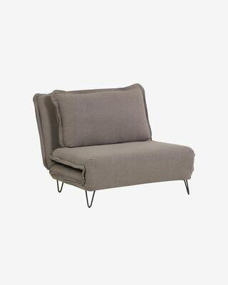 Sofá cama Miski 105 cm gris