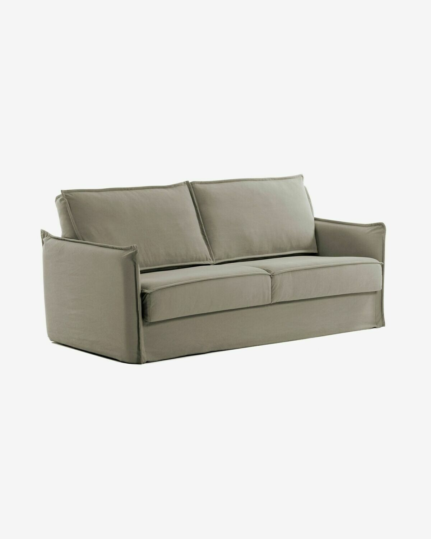 Sofá cama Samsa 140 cm visco beige