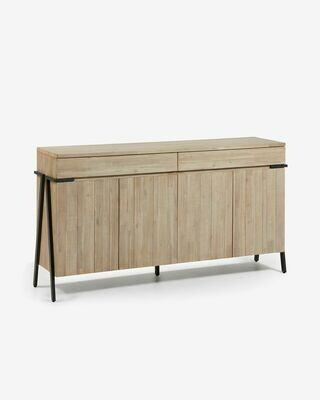 Aparador Thinh 184 x 98 cm de madera maciza de acacia