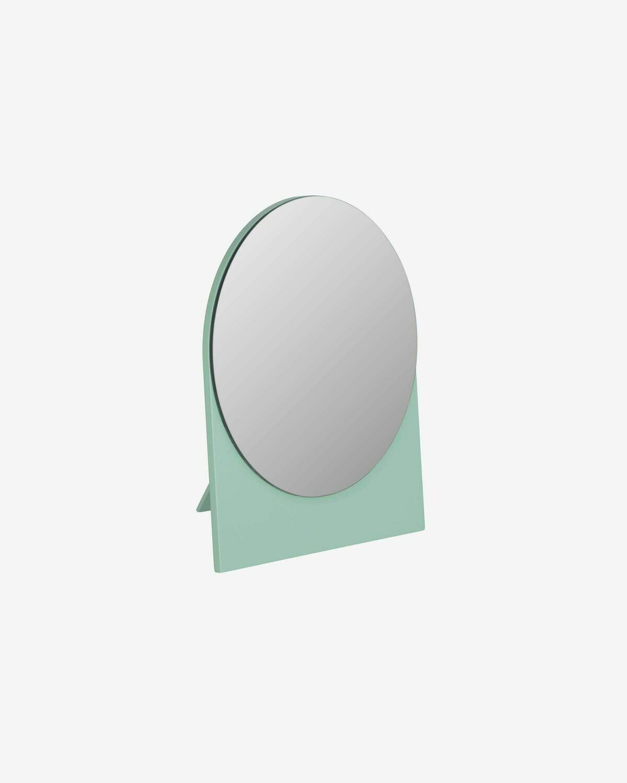 Espejo Mica 17 x 20 cm verde