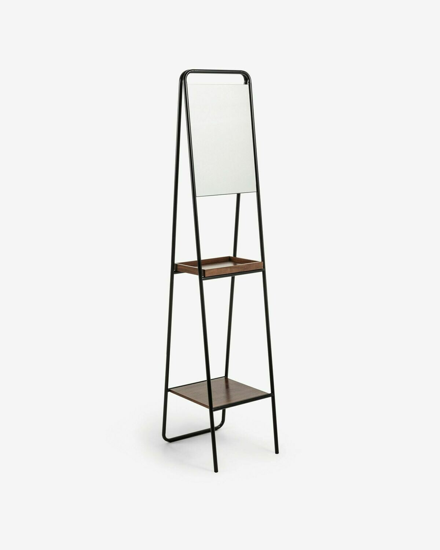 Espejo Benneth de acero 35 x 164 cm
