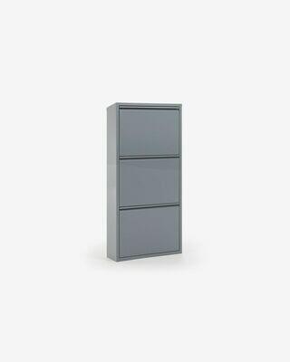 Zapatero Ode 50 x 103 cm 3 puertas gris