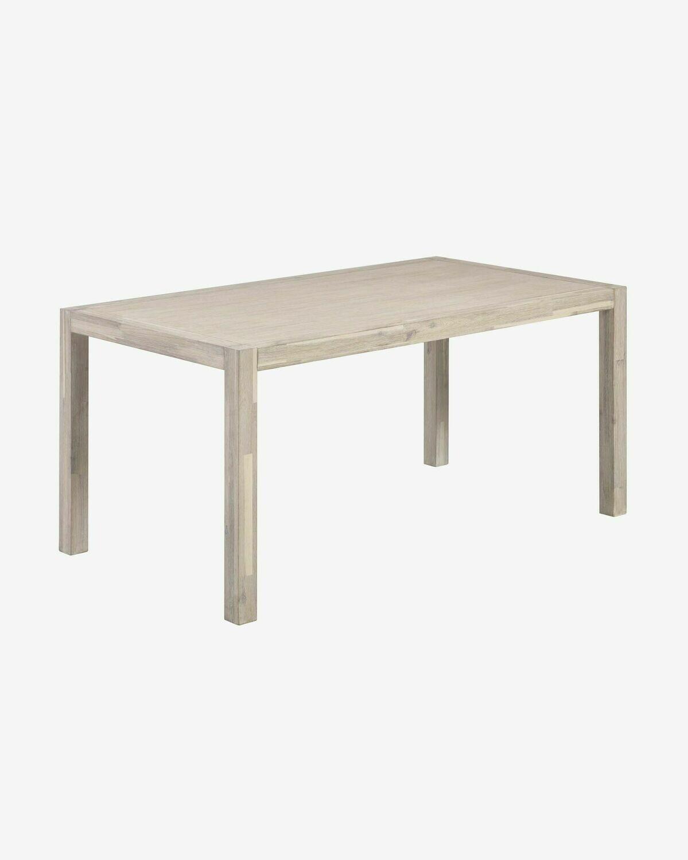 Mesa Alen madera maciza acacia 160 x 90 cm