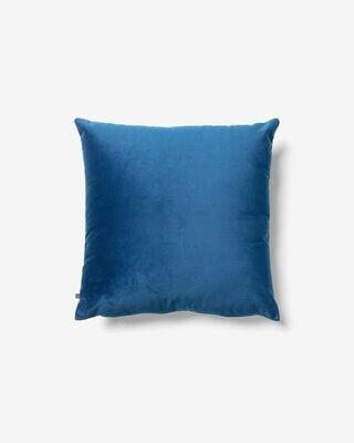 Funda cojín Lita 45 x 45 cm terciopelo azul