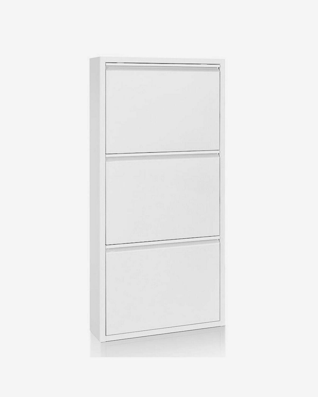 Zapatero Ode 50 x 103 cm 3 puertas blanco