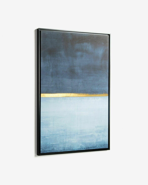 Cuadro Wrigley 60 x 90 cm azul