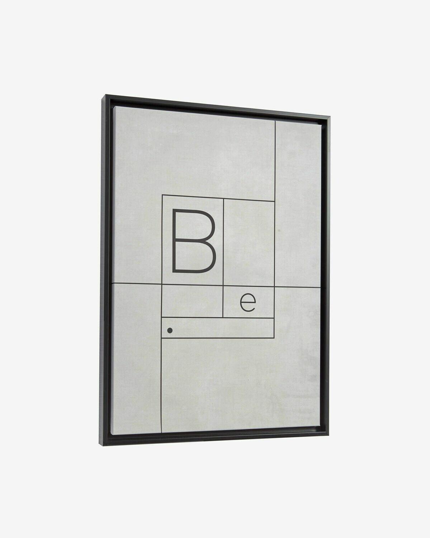 Cuadro Myrthe 50 x 70 cm blanco