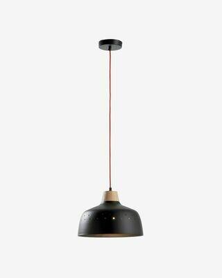 Lámpara de techo Bits de metal con acabado negro