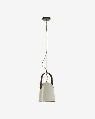 Lámpara de techo Zanie de madera de mango y acero