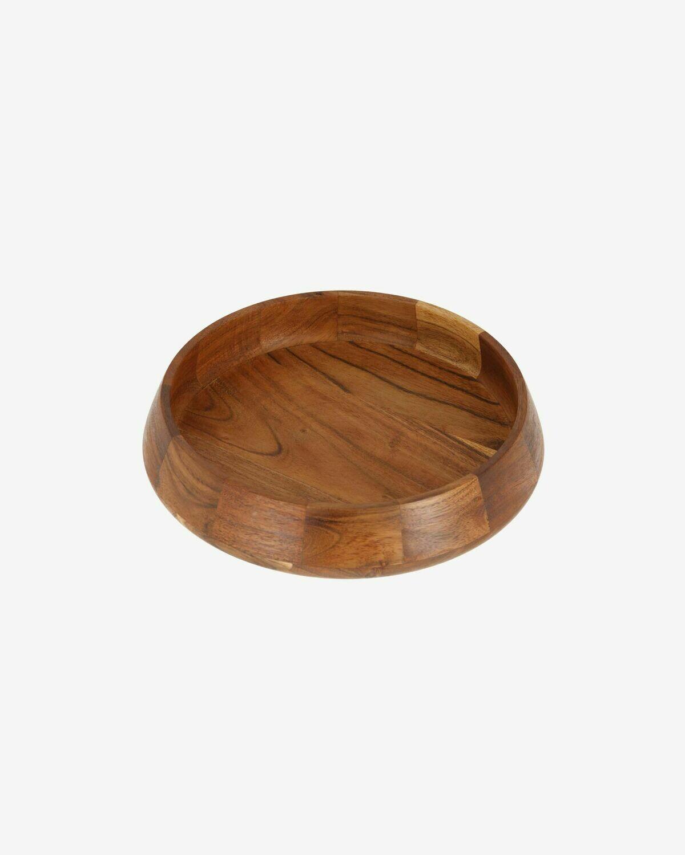 Bol Yanila grande madera maciza acacia