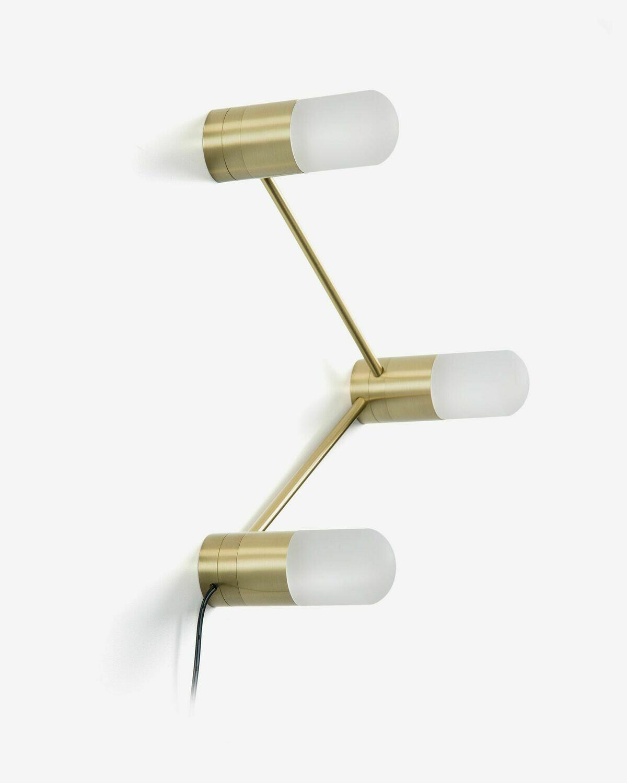 Lámpara de mesa o aplique Badra de acero