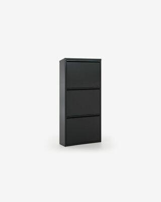 Zapatero Ode 50 x 103 cm 3 puertas grafito