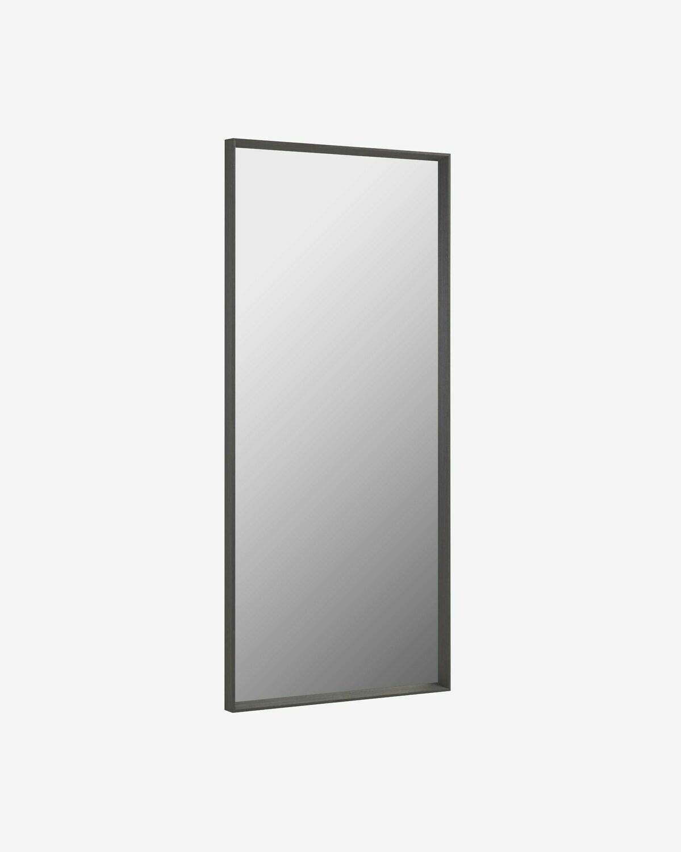 Espejo Yvaine 80 x 180 cm con acabado oscuro