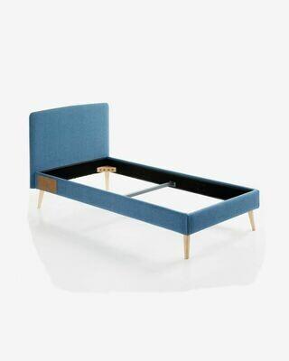 Funda cama Dyla colchón azul oscuro 90 x 190 cm