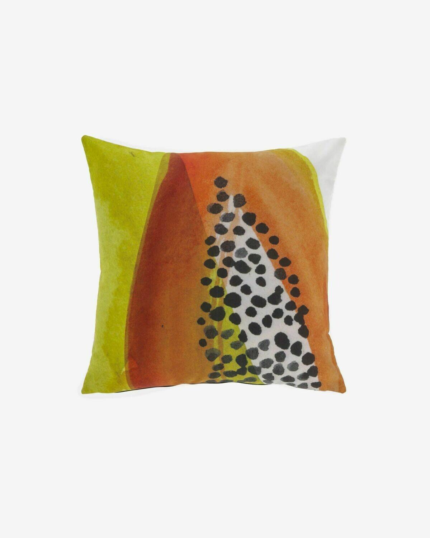 Funda cojín Dikeledi 45 x 45 cm papaya