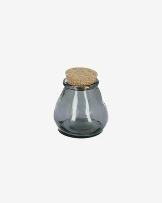 Bote Rohan pequeño de vidrio azul 100% reciclado