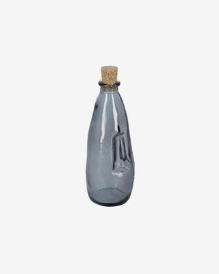 Botella Rohan de vidrio azul 100% reciclado