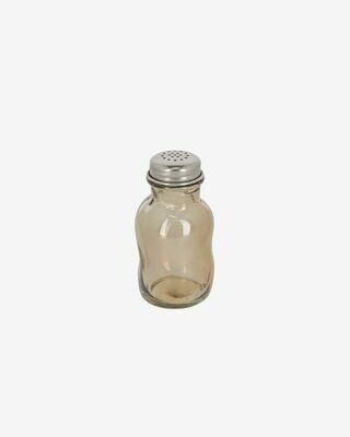 Salero Rohan de vidrio marrón 100% reciclado