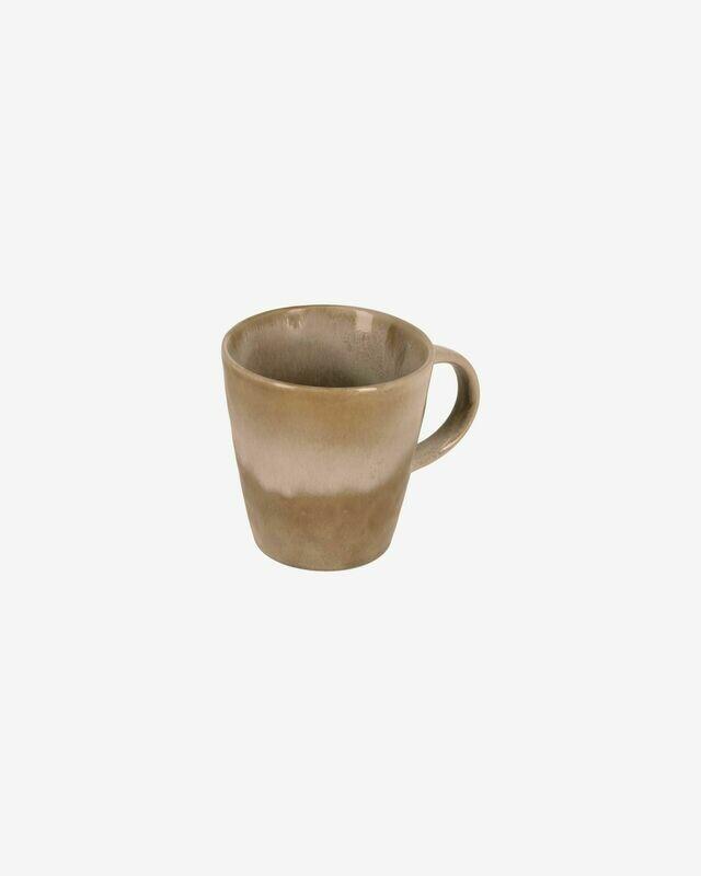 Taza Vreni de cerámica beige