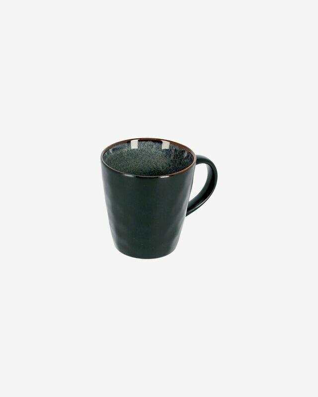 Taza Odile de cerámica azul oscuro