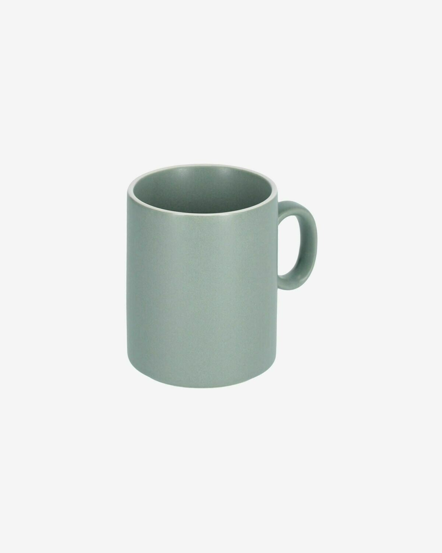 Taza Shun de porcelana verde