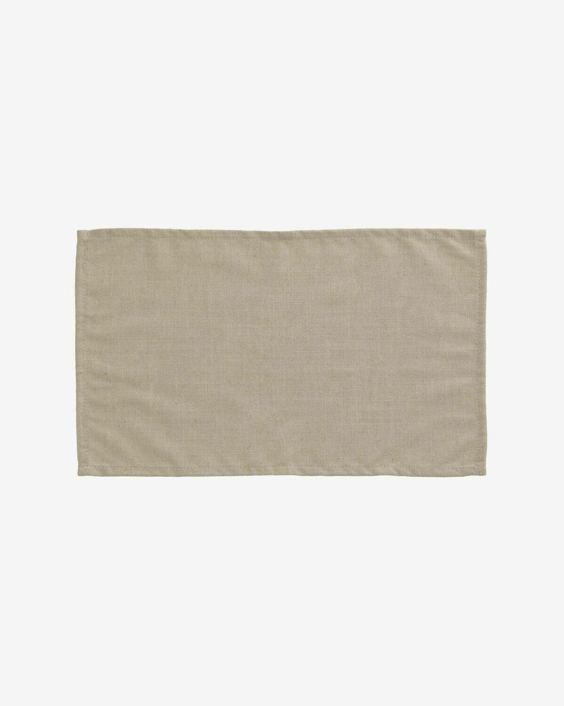 Set Samay de 4 manteles individuales beige
