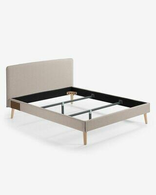 Funda cama Dyla colchón beige 160 x 190 cm