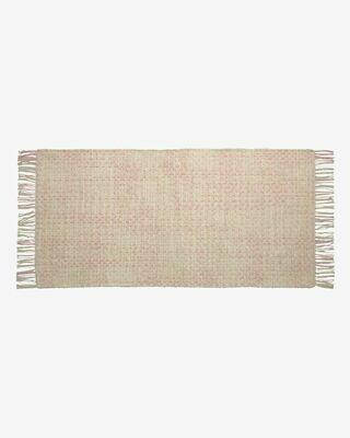 Alfombra Nur 100% algodón orgánico (GOTS) rosa 70 x 140 cm