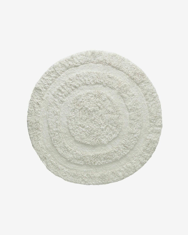 Alfombra Eligia algodón Ø 120 cm