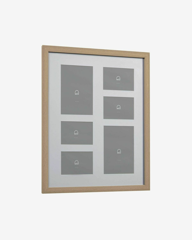 Marco de fotos Luah 39 x 49 cm con acabado claro