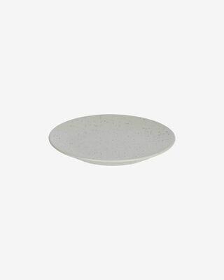 Plato de postre Aratani gris claro