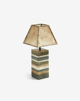Lámpara de sobremesa Albero de madera de mango
