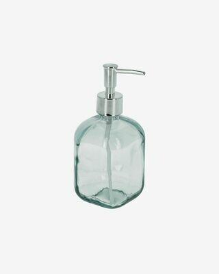 Dispensador de jabón Trella de vidrio transparente 100% reciclado