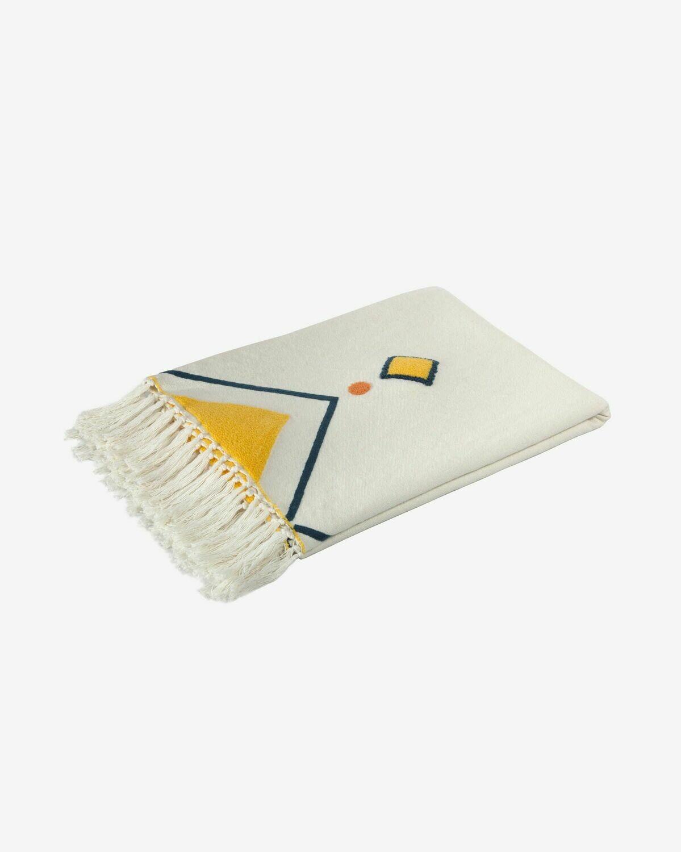 Manta Itri 100% algodón multicolor 130 x 170 cm