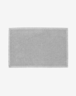 Alfombra de baño Miekki gris claro