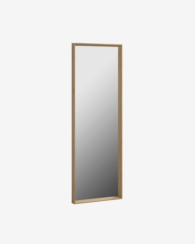 Espejo Nerina 52 x 152 cm con acabado nogal
