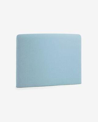 Funda cabecero azul claro Dyla 108 x 76 cm