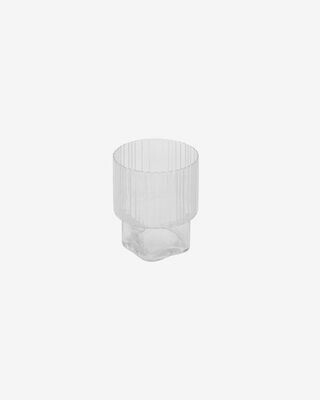 Vaso Sheli de cristal transparente